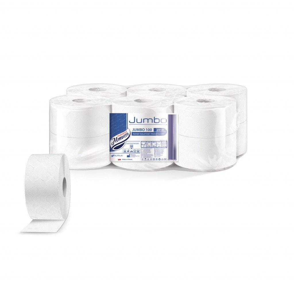Jumbo 19, 2 vrstv. 100 % celulóza 12 ks v balení