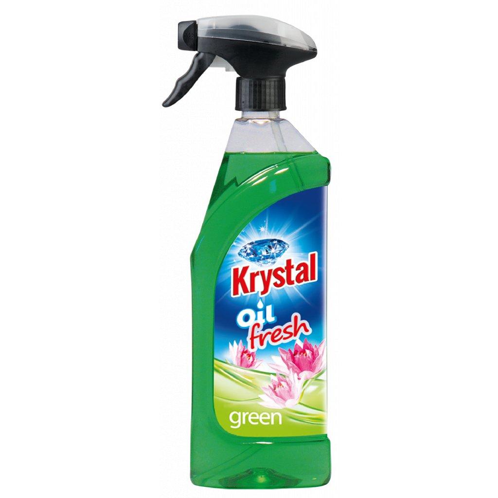 KRYSTAL olejový osvěžovač zelený 750ml