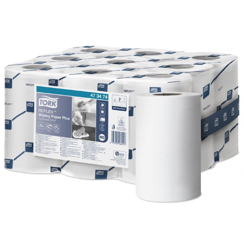 Papírová utěrka Tork Reflex Plus