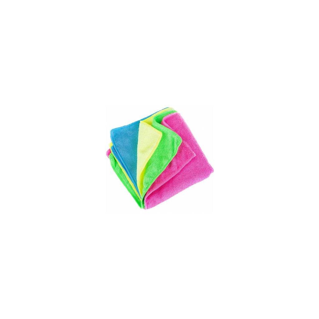 Mikrovláknová utěrka 40x40 cm , 250g , zelená