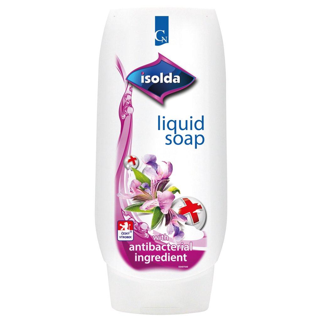 ISOLDA tekuté mýdlo s antibakteriální přísadou 500ml - CLICK&GO!