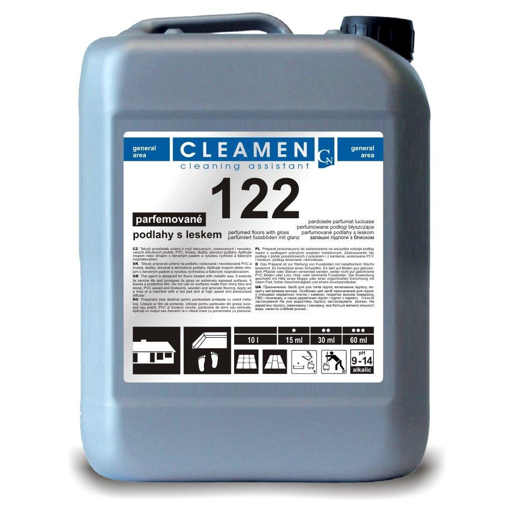 CLEAMEN 122 na podlahy s leskem, parfémované 5L