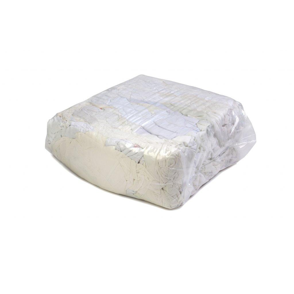Textilní čistící utěrky - Bílé, bavlněné látky 10kg