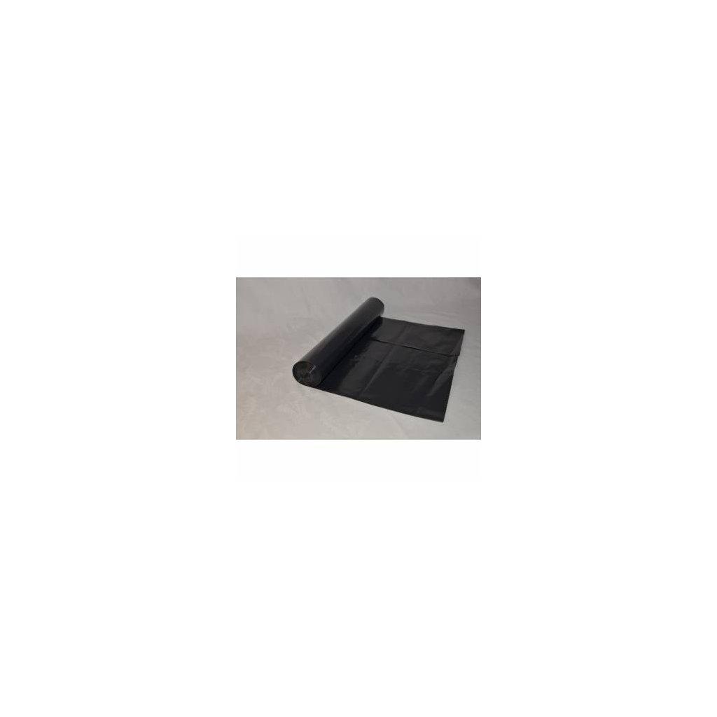 Odpadový pytel černý 120 l, 700x1100 mm, 25 ks černý ( 40 mi )