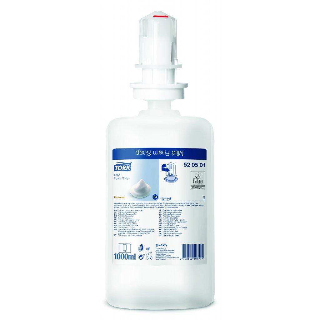 TORK 520501 jemné pěnové mýdlo - karton ( 6 ks )