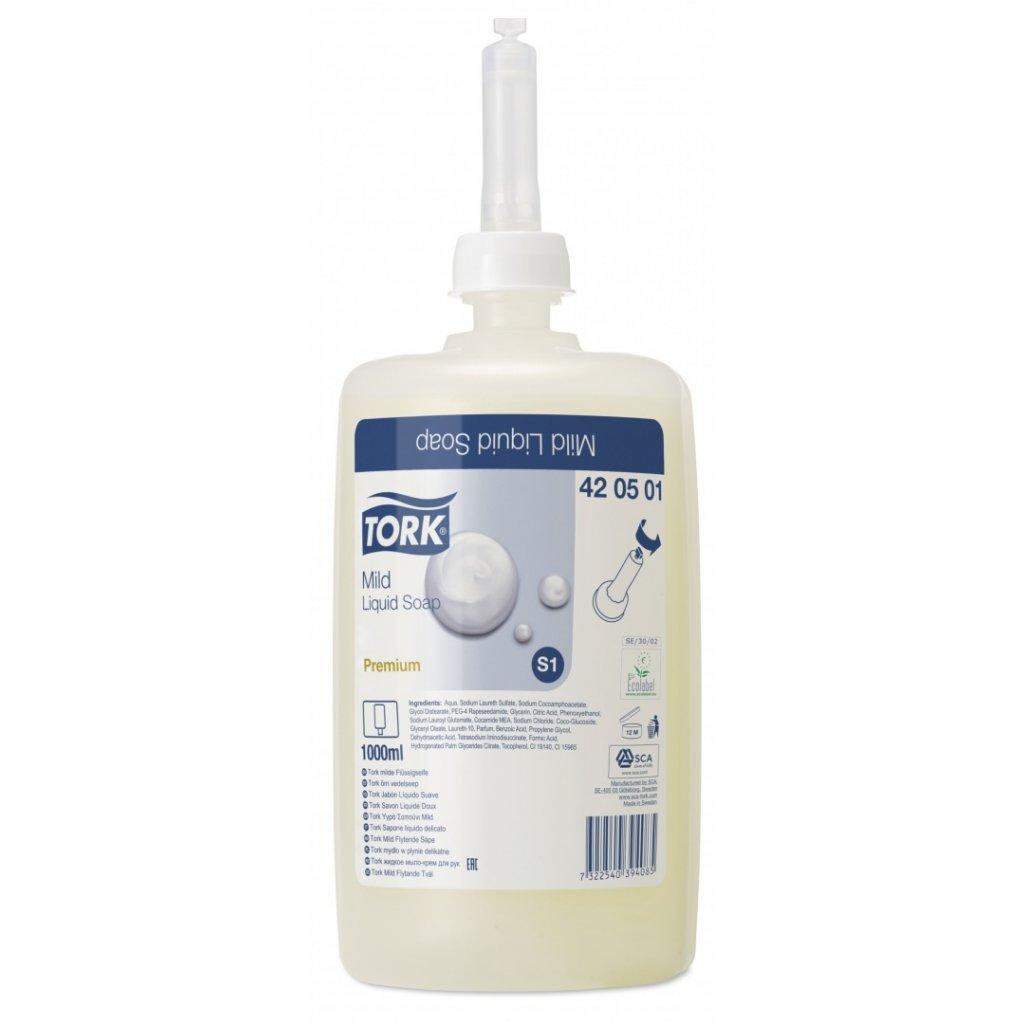 TORK 420501 jemné tekuté mýdlo - karton ( 6 ks )