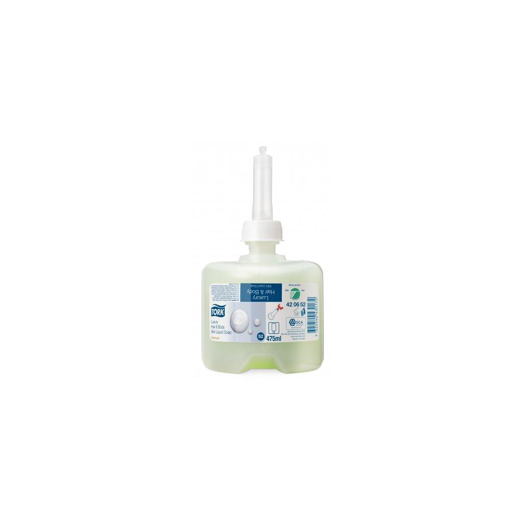 TORK 420625 Mini luxusní tekuté mýdlo na vlasy a tělo - karton ( 8 ks )