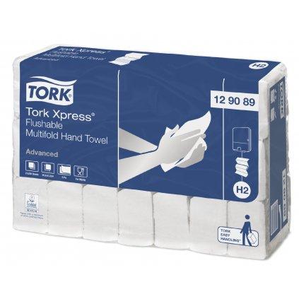 Tork Xpress splachovatelné skládané papírové ručníky