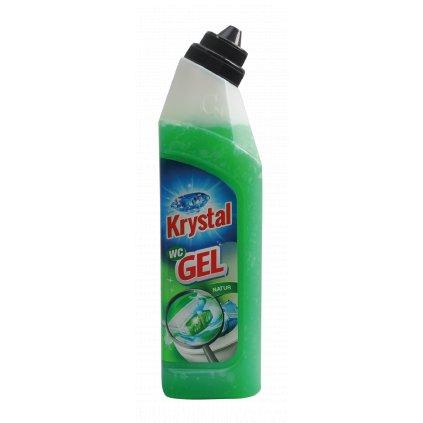 KRYSTAL WC gel, zelený 750 ml