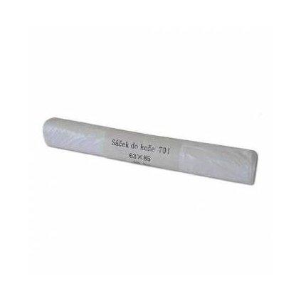 Odpadový pytel bílý 70 l, 630x850 mm, 40 ks, bílý ( 8 mi )