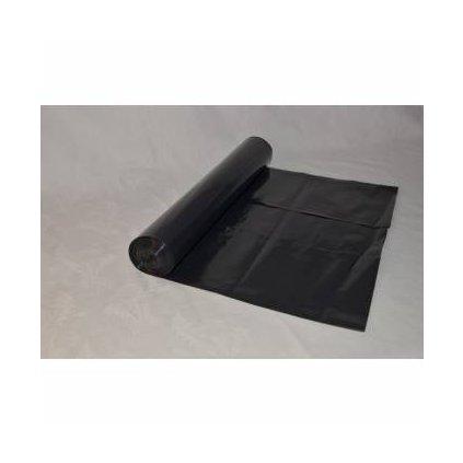 Odpadový pytel černý 70 l, 630x850 mm, 25 ks, černý ( 50mi )