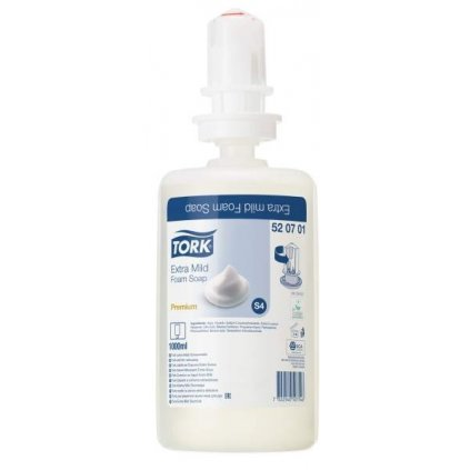 TORK 520701 extra jemné pěnové mýdlo - karton ( 6 ks )