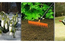 Jarní údržba zahrady