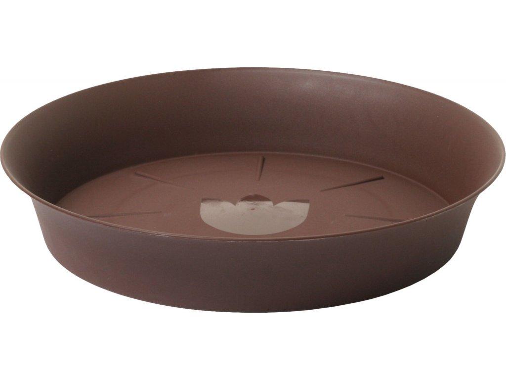 Miska Tulipán - čokoládová 35 cm