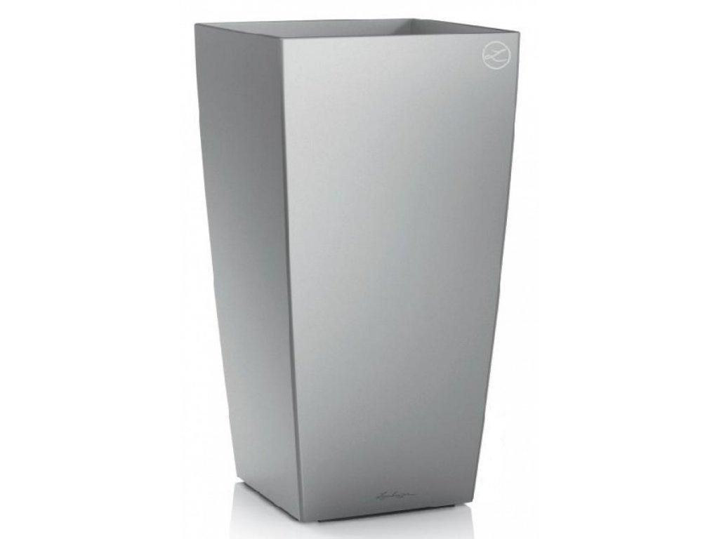 Lechuza Cubico Premium 30 cm - stříbrná