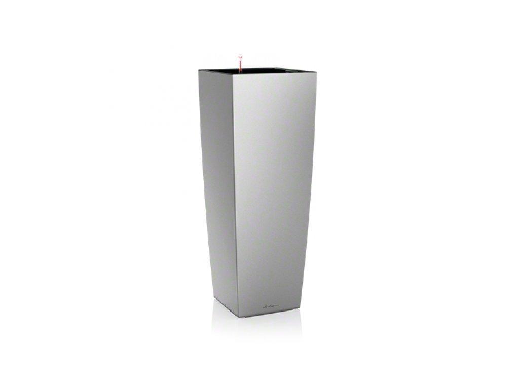 Lechuza Cubico Alto Premium 40 - stříbrná