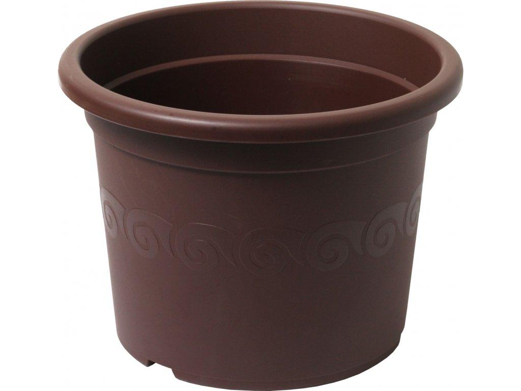 Květináč Narcis 40 - čokoládová