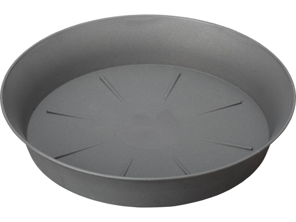 Miska Tulipán - antracit 30 cm