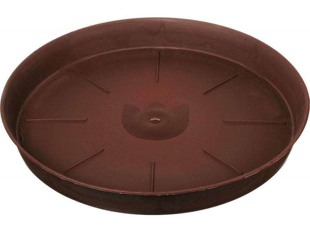 Miska Tulipán - čokoládová 45 cm