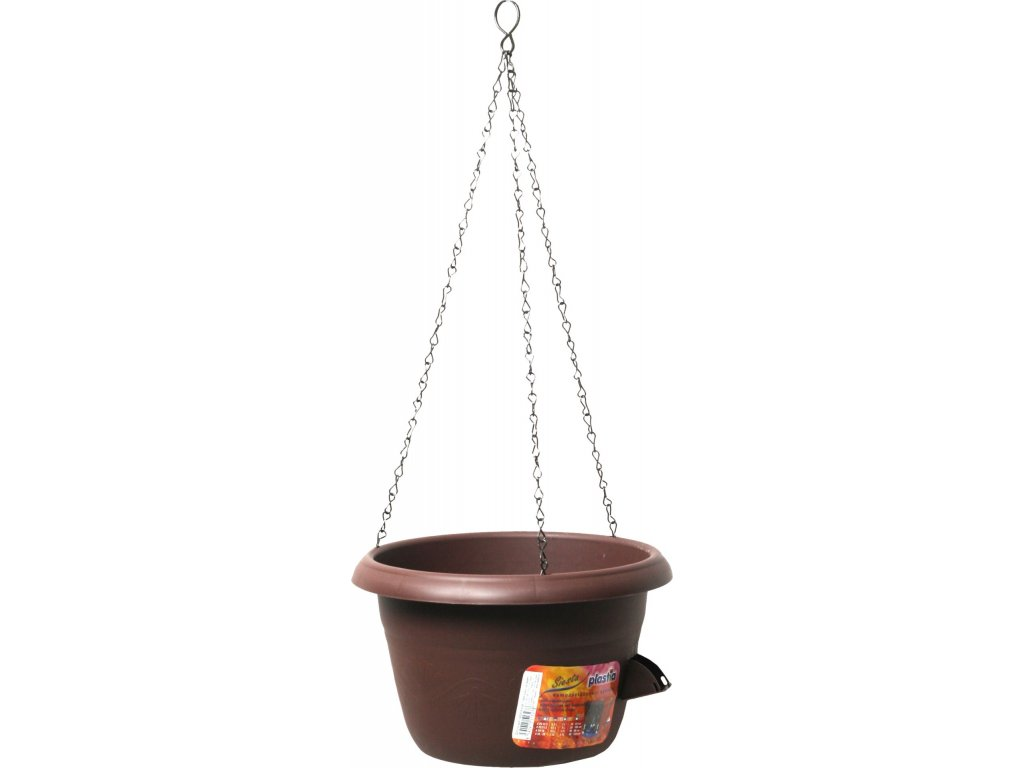 Žardina samozavlažovací - závěs 35 čokoládová