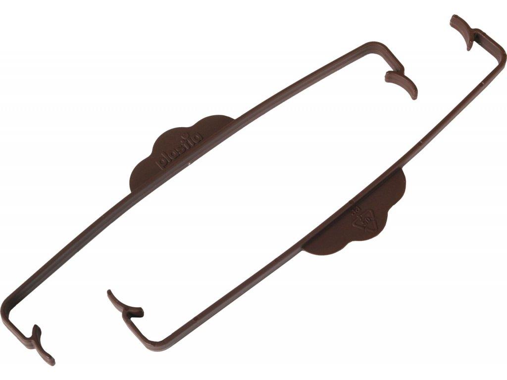 Svorka na truhlík Siesta čokoládová (2ks)