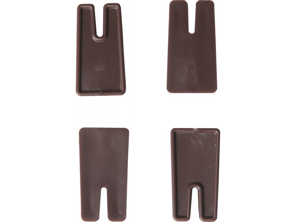 Vyrovnávací nožičky Siesta - čokoládová (4ks)