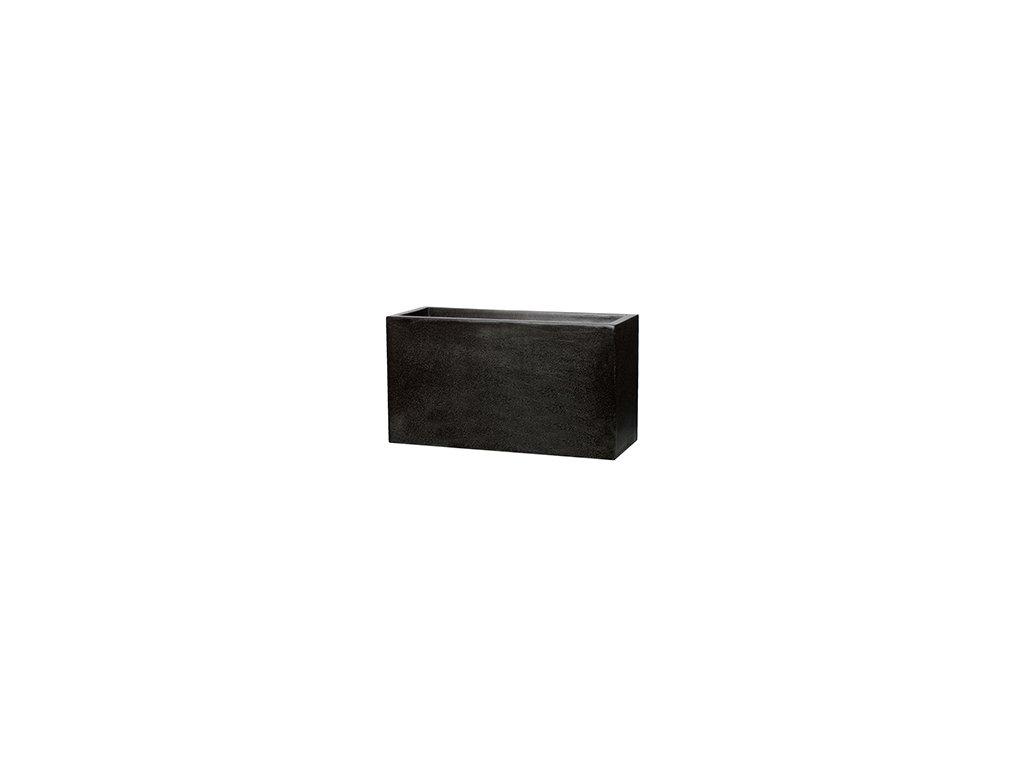 Capi Lux truhlík 80x32x44 cm - black