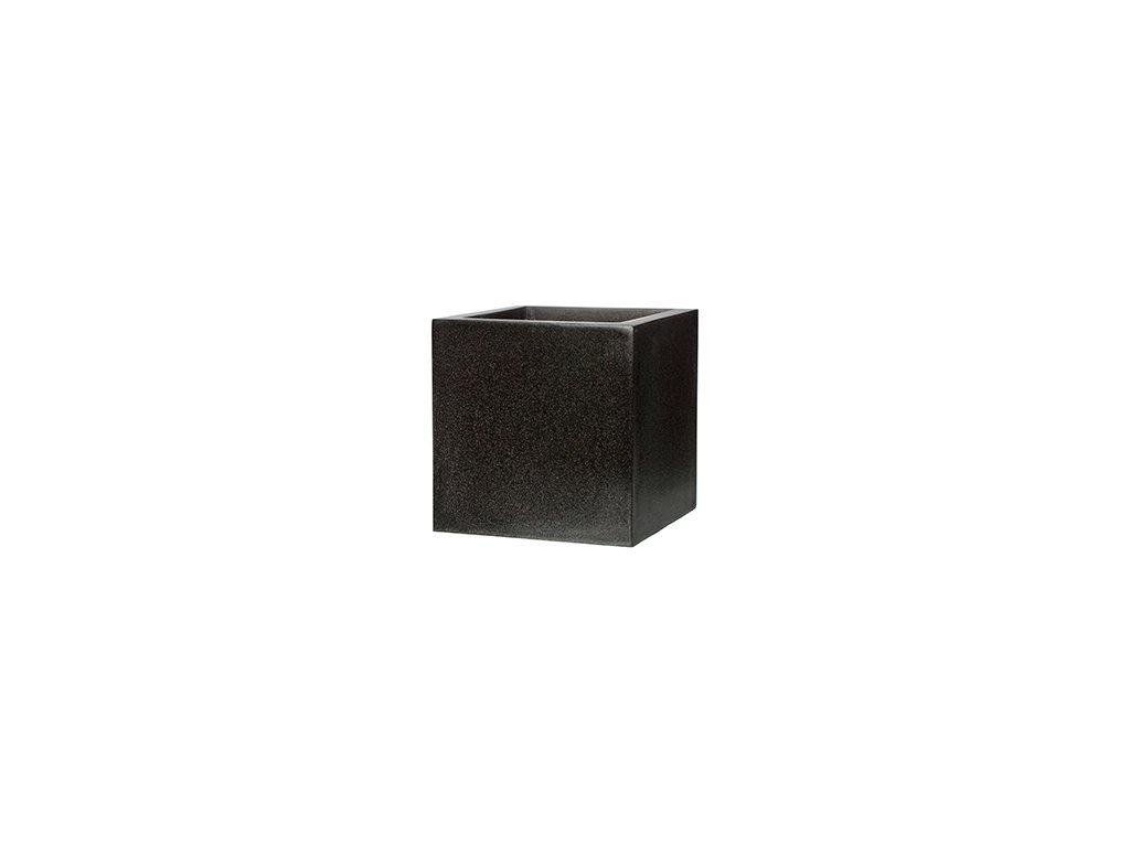 Capi Lux square 80x80x80cm - black