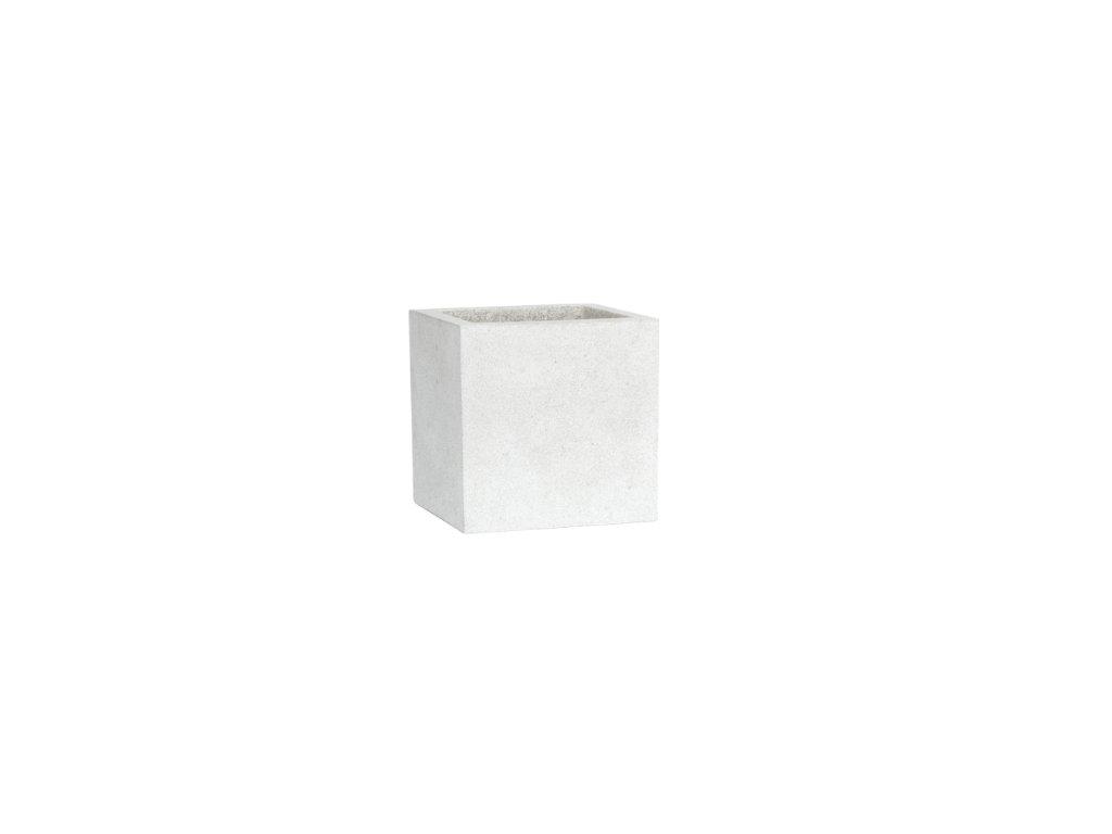 Capi Lux square 40x40x40cm - light grey