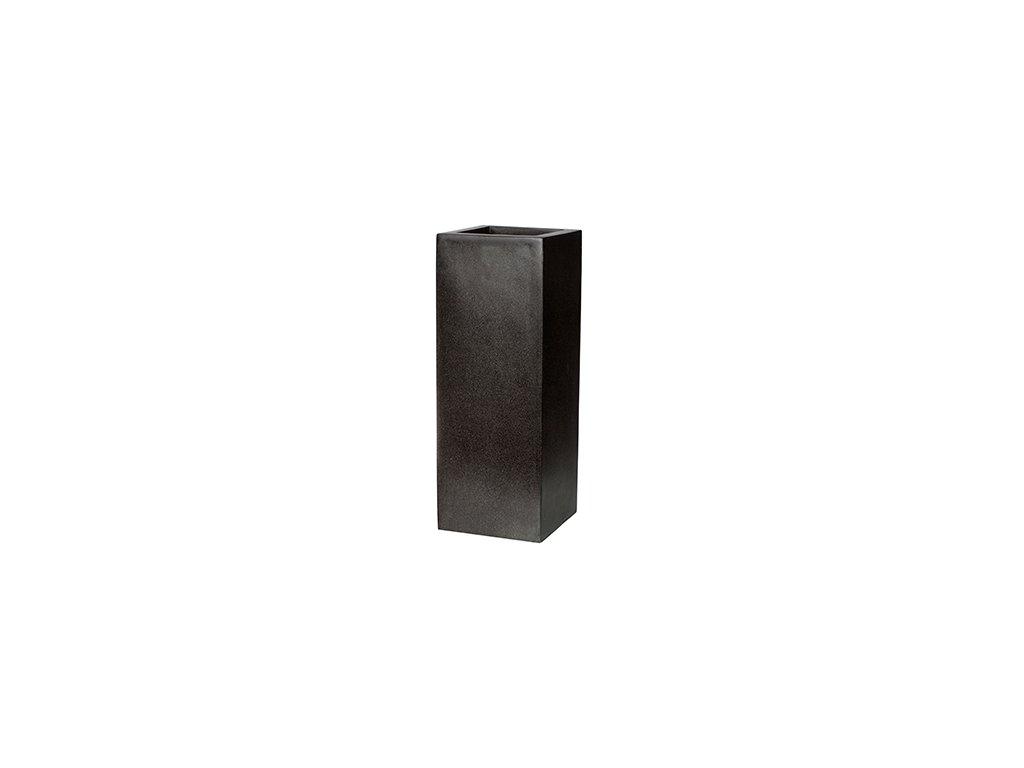 Capi Lux square high 35x35x78 cm - black