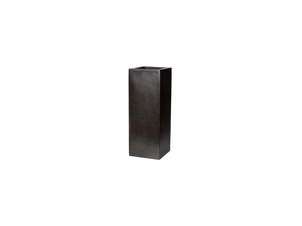 Capi Lux square high 45x45x100 cm - black