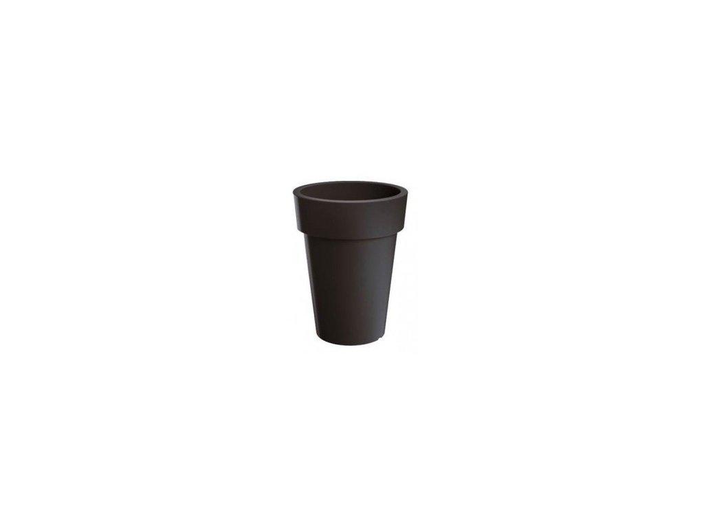 Květináč Lofly Slim 25 - antracit