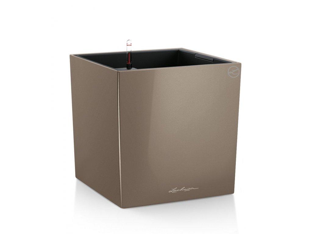 Lechuza Cube Premium 30 - taupe