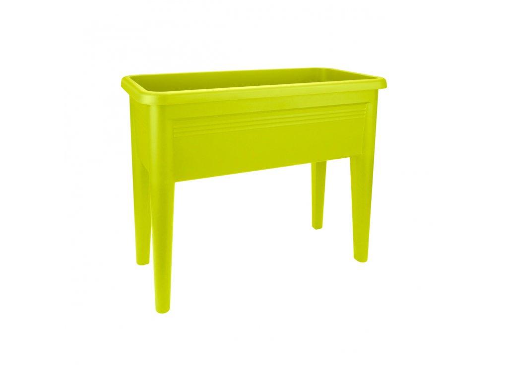 elho green basics grow table - stůl, spodní díl k minipařeništi XXL - lime green