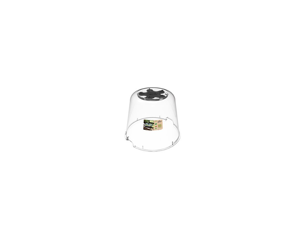 elho hroní díl ke květináči green basics kulatý 30 cm - transparent