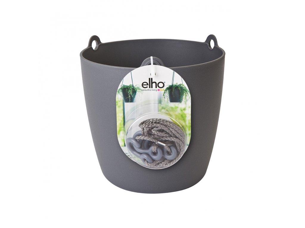 elho brussels hanging basket 18 - antracit