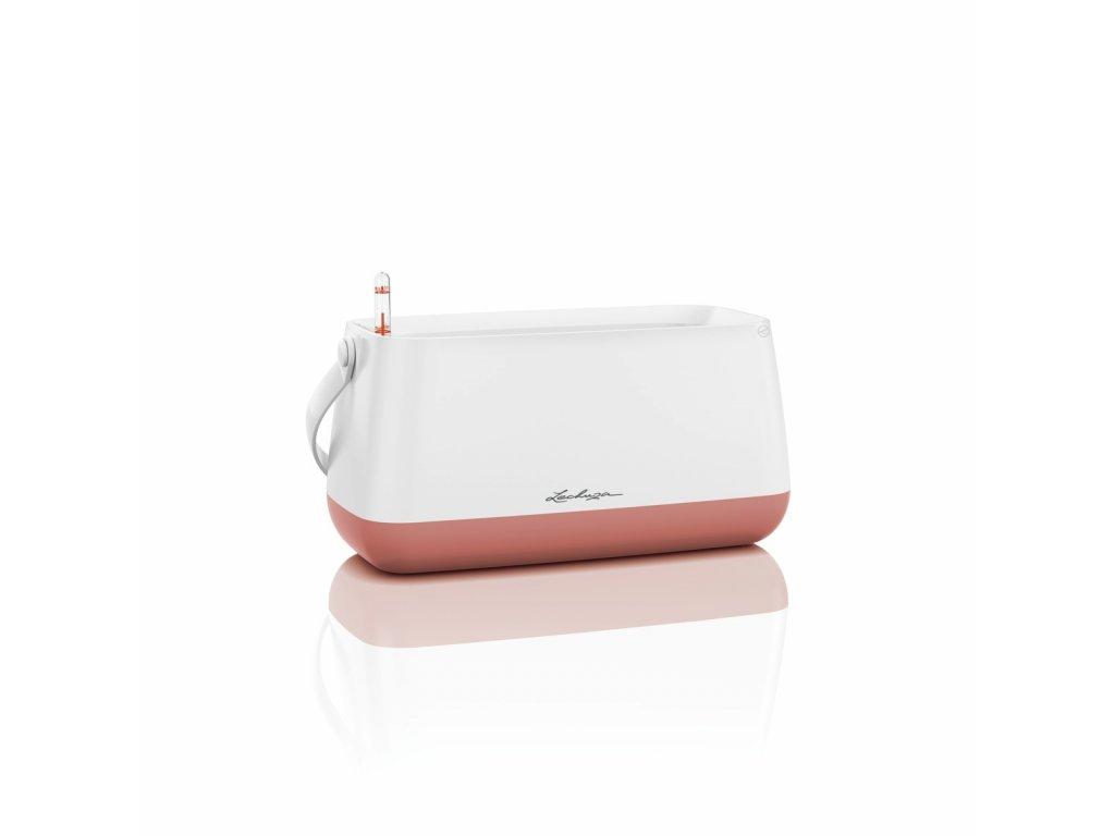 Lechuza květináč taška YULA - bílá/růžová