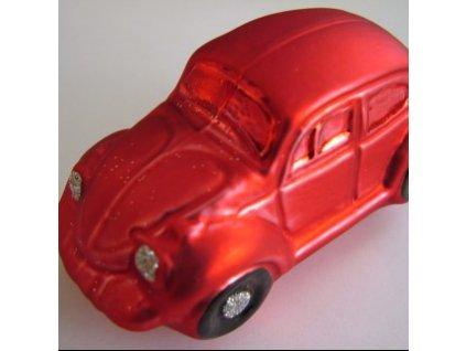 Auto Brouk, červené a růžové, 6 kusů