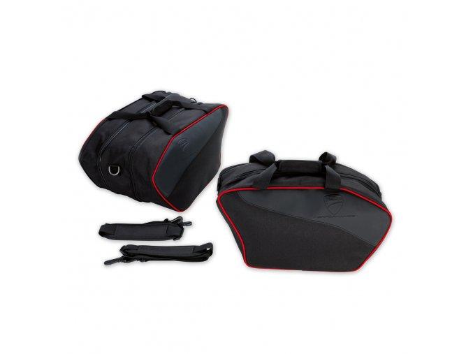 textilní kufry