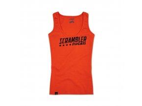 Dámské tílko Scrambler Orange Flip