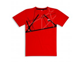 graphic n red