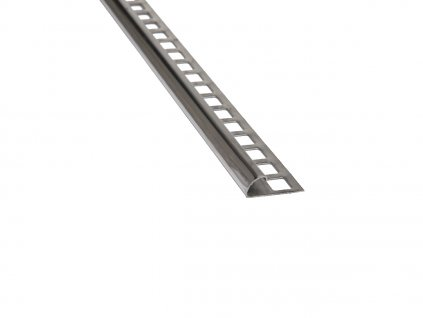 Nerezový profil čtvrtobloukový 12,5 mm 300 cm