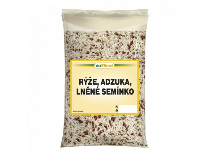 Rýže ADZUKI LNĚNÉ SEMÍNKO 3kg