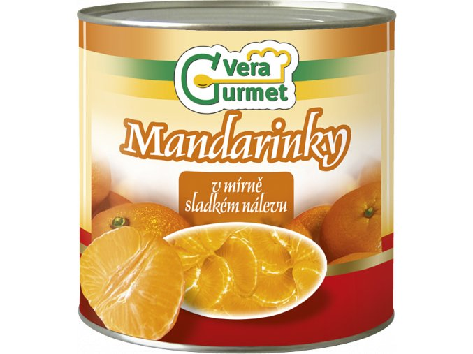 KL 75 Konzerva Mandarinky