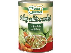 3d Zelny salat s mrkvi