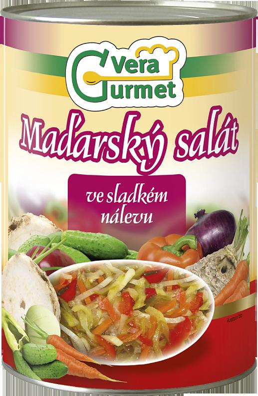 Maďarský zeleninový salát 4000g
