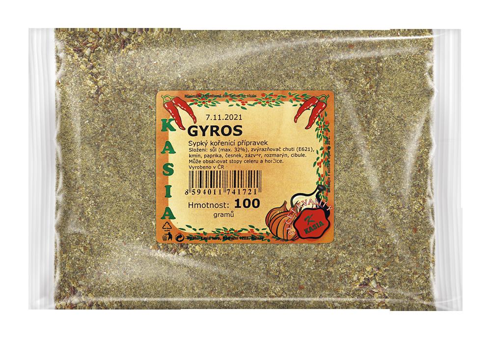 Gyros 100g