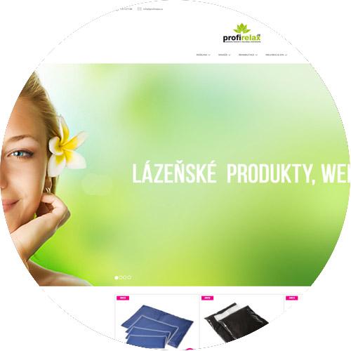 Nová verze stránek Profirelax.cz