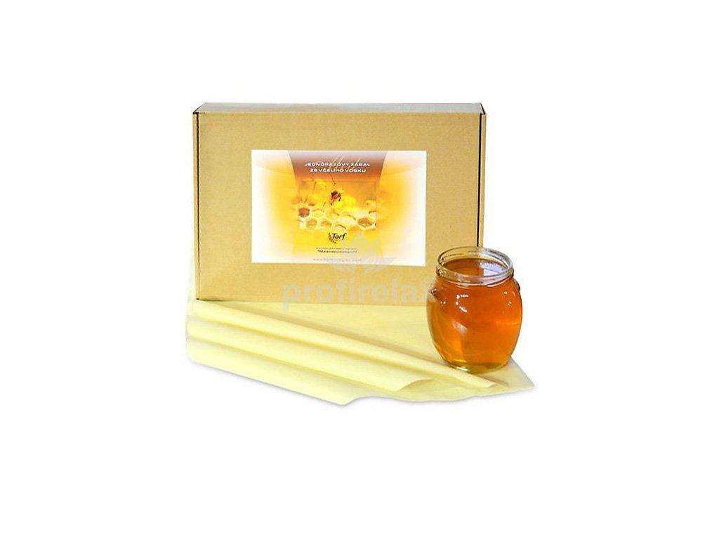 Zábaly ze včelího vosku jednorázové BIO 20 ks