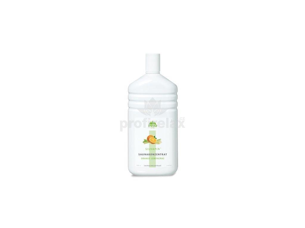 Esence pro sauny Silvapin Pomeranč-Lemongrass 1000 ml